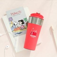 [Peanuts]텀블러 스마트400[핑크]