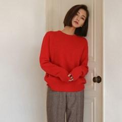 soft cashmere basic knit