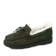 kami et muse Ivory rich fur moccasin_KM17w233
