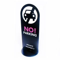 No parking sign stand 노파킹사인스텐드 / NPS-B 주차금지사인