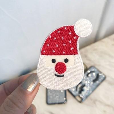 빨간코 산타 크리스마스 와펜스티커