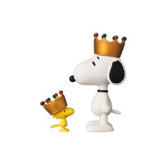 UDF Crown Snoopy & Woodstock(Peanuts Series 6)