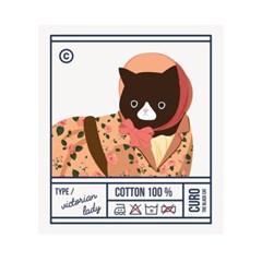 Ecobag-er_curo label(Victorian lady)