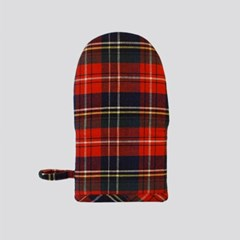 SCOTLAND CHECK KITHEN MITTS (3color)