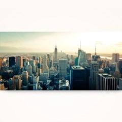 캔버스액자 /CAS526 뉴욕의 전경-와이드 대형