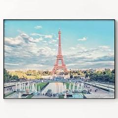 메탈 풍경 사진 포스터 인테리어 액자 파리 동화