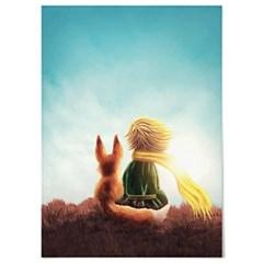 패브릭 포스터 F155 태피스트리 그림 어린왕자