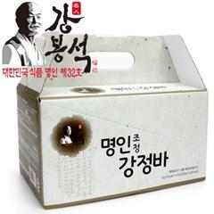 명인조청강정바 15gx40/강봉석 에너지바/한과 쌀강정
