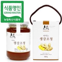 명인 생강청 600g/조청 꿀/조청분야식품명인 강봉석