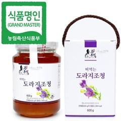 명인 도라지청 600g/조청 꿀/조청분야식품명인 강봉석