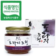 명인 도라지청 500g/조청 꿀/조청분야식품명인 강봉석
