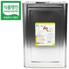 명인 쌀조청 20kg/꿀 조청 물엿/국가지정명인 강봉석