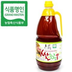 명인 쌀조청 2.5kg/꿀 조청 물엿/국가지정명인 강봉석