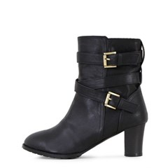 kami et muse Ankle belted heel ankle boots_KM17w248