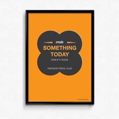 FPC 인테리어 아트 포스터 액자 Something Today