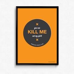 FPC 인테리어 아트 포스터 액자 Kill Me