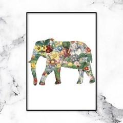동물 일러스트 코끼리