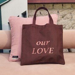 A.B X HOTEL NUANCE OUR LOVE ECO BAG ala007(Brown)_(902462517)