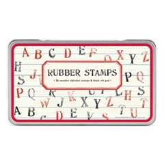 카발리니 빈티지 스탬프 세트-Alphabet