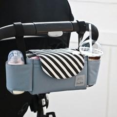 코니테일 유모차 정리함 - 블랙슬래쉬 (유모차 가방)