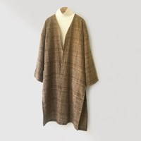 Check Open CardiGAN (3-color)
