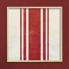 LP 메탈 액자 - vintage stripe