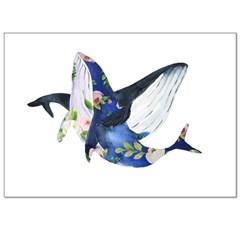 꿈속의 고래 - 폼보드액자