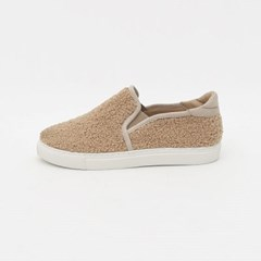 Fuzzy slip-on shoes