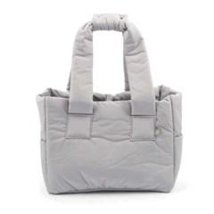 [monchouchou] Padded Shoulder Bag_Gray