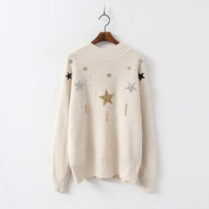 Wool Star Sweater