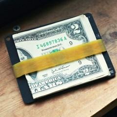 위즈몽키 밴드플레이트 - 세상에서 가장 작고 가벼운 지갑