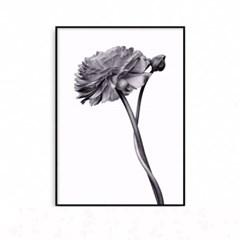 패브릭포스터 꽃그림 식물액자