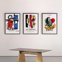 유니크 인테리어 디자인 포스터 M 페르낭레제 6종 모음