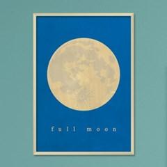 full moon B - A2,A3,A4 메탈액자