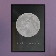 full moon A - A2,A3,A4 메탈액자