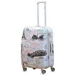 앙뜨레 S2711 24형 스탬프 여행가방 여행용 캐리어