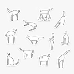 [Gratus] 후리 스티커 (Hoo-ri Sticker 6종)