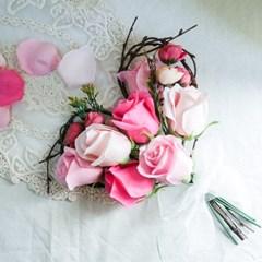 로즈 하트봉봉 꽃다발