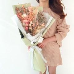 민트 프리저브드 꽃다발