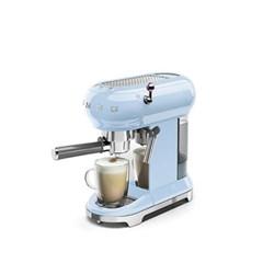 반자동 커피머신 파스텔 블루 ECF01PB
