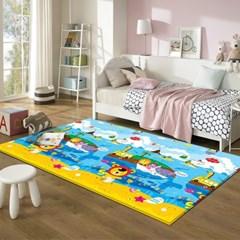 17T 프로비 에코 놀이방매트 애니멀 고래섬 270x180x1.7cm
