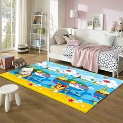 17T 프로비 에코 놀이방매트 애니멀 고래섬 230x150x1.7cm