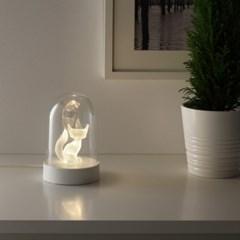 이케아 STRALA LED 테이블장식조명(여우)_(701345448)