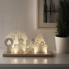 이케아 STRALA LED 테이블장식조명(크리스마스축하)_(701345446)