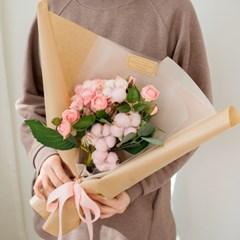 센서빌리티 수국 목화꽃다발