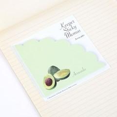 Keeper Sticky Memos(아보카도)