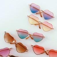 Mini Heart Glasses
