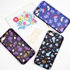 디즈니 앨리스 루시드 패턴 카드 케이스 아이폰 갤럭시 LG