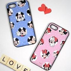 디즈니 미키&미니 러브 시그널 카드 케이스 아이폰 갤럭시 LG