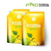 FND건강한오늘 깔라만시 원액 100% 1L x 2팩